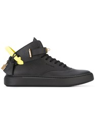 Buscemi Alce Sneakers Men Leather Polyester Rubber 43 Black