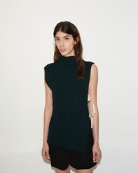 Jacquemus La Maille Rectangles Green