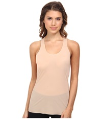 Commando Whisper Racerback Tank Top Wrt01 Nude Women's Sleeveless Beige