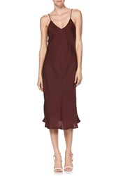 Paige Cicely Dress Dark Currant