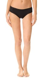Natori Bliss Cotton Girl Briefs Black