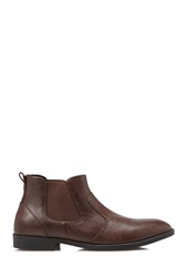 Forever 21 Faux Leather Chelsea Boots Brown