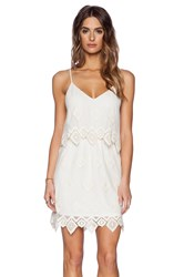 Liv Anna Lace Cami Dress Ivory