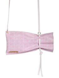 Jacquemus Le Poncho Lavande Leather Shoulder Bag Pink
