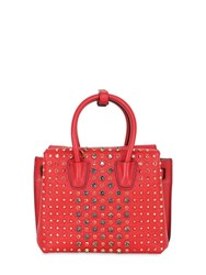 Mcm Mini Milla Studded Leather Shoulder Bag