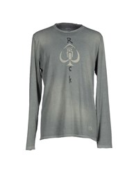 Gas Jeans Gas Topwear T Shirts Men Grey