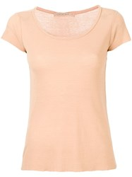 Transit Round Neck T Shirt Neutrals