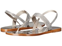 Pedro Garcia Zulimar Titanium Combo Women's Dress Sandals Silver