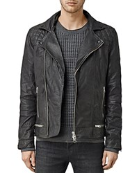 Allsaints Conroy Leather Biker Jacket Ink