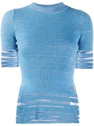 Emilio Pucci Striped Knitted Top 60