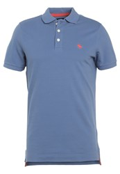 Abercrombie And Fitch Polo Shirt Light Blue