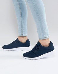 Loyalty And Faith Diver Trainers In Navy Blue