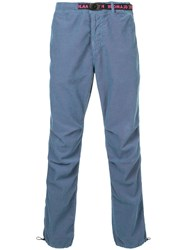 Hysteric Glamour Belted Waist Slim Fit Trousers Blue