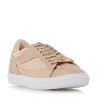 Head Over Heels Elize Mix Material Sport Trainers Rose Gold