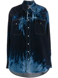 Matthew Adams Dolan Reverse Dye Denim Shirt 60