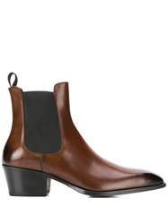Tom Ford Chelsea Boots Brown