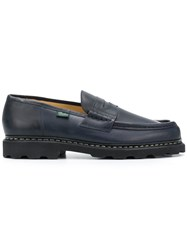 Paraboot Reims Flat Loafers Blue