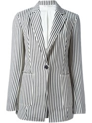 3.1 Phillip Lim Striped Blazer Blue