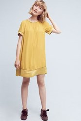 Maeve Verdet Swing Dress Yellow Gold