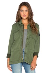 Mother The Cargo Jacket Green