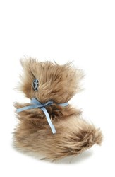 Women's Bedroom Athletics 'Lauper' Faux Fur Slipper Boot Raccoon