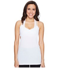Trina Turk Washy Jersey Tank Top White Women's Sleeveless
