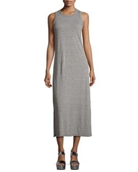 Current Elliott The Perfect Muscle Tee Dress Gray