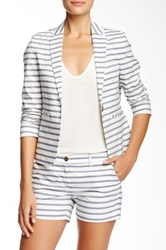 Color Siete Striped Summer Blazer Multi