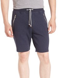 Brunello Cucinelli Banded Drawstring Shorts Blue