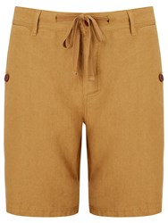 John Lewis And Co. Linen Shorts Sand