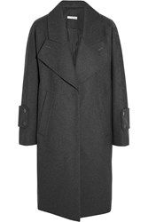 Carven Oversized Wool Blend Felt Coat