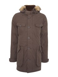 Army And Navy Men's Dunton Parka Coat Khaki