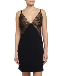 Commando Love And Lust Lace Detail Slip Black