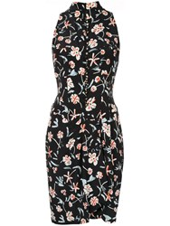 Chanel Vintage Sleeveless One Piece Dress Black