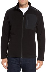 Vineyard Vines Men's Fleece Zip Jacket Jet Black