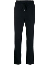 Odeeh Cropped Track Trousers Blue