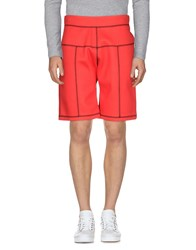 Christopher Kane Bermudas Red