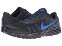 Nike Dual Fusion Trail 2 Black Hyper Cobalt Anthracite Loyal Blue Men's Running Shoes