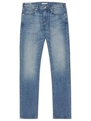 Reiss Gunther Light Wash Slim Jeans Blue