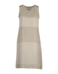 Gossip Short Dresses Light Grey