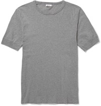 Schiesser Karl Heinz Cotton T Shirt Gray