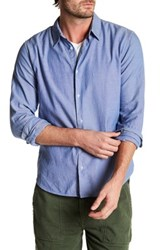 Save Khaki Oxford Simple Classic Fit Shirt Blue