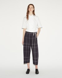 Stephan Schneider Intuition Long Short Pant Navy Plaid