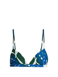 Mikoh Belize Bikini Top Green Multi