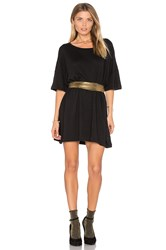Wildfox Couture T Shirt Dress Black
