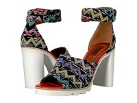 Missoni Ankle Band Zigzag Sandal Multi