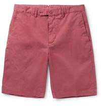 Hackett Core Stretch Cotton Shorts Red
