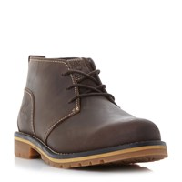 Timberland A12hy Heavy Chukka Boots Dark Brown