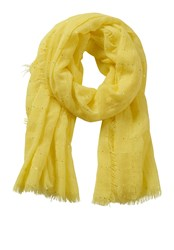 Betty Barclay Sequin Embellished Scarf Yellow