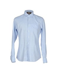 Glanshirt Shirts Shirts Men Sky Blue